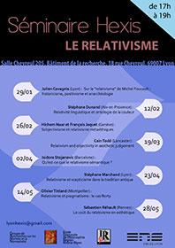 """Séminaire Hexis """"Le relativisme"""""""