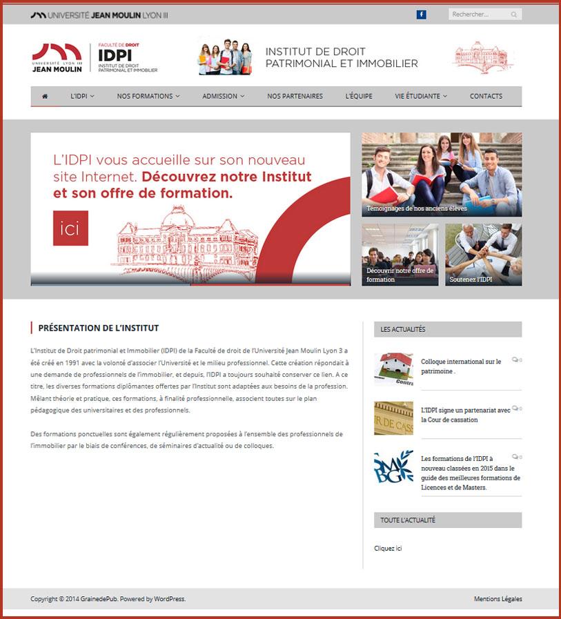 Home Page IDPI