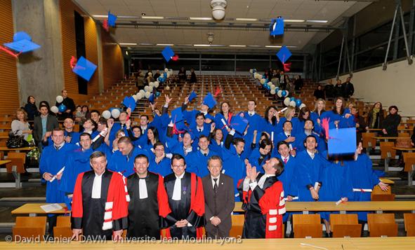 Remise de diplômes CLUBB 2010