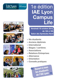 IAE Lyon Campus Life 2012