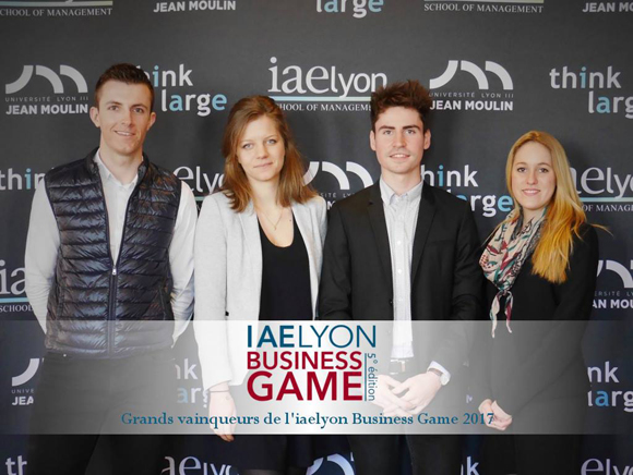 iaelyon Business Game 2017 - 1er Prix