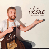 IKÔNE, 1er Bar à Chocolat Fondu