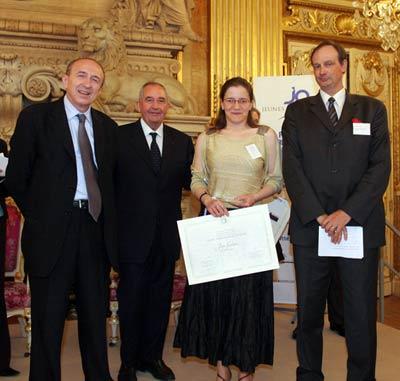 Remise du 3e prix JAL 2006