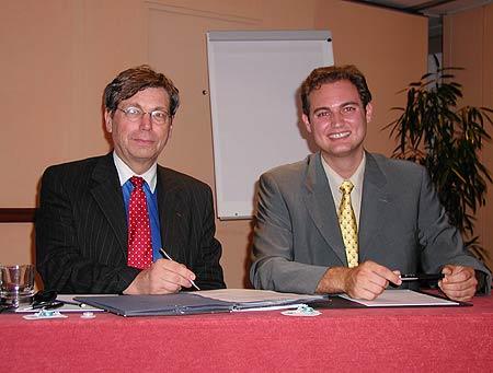 Gilles Guyot et Guillaume Cochet