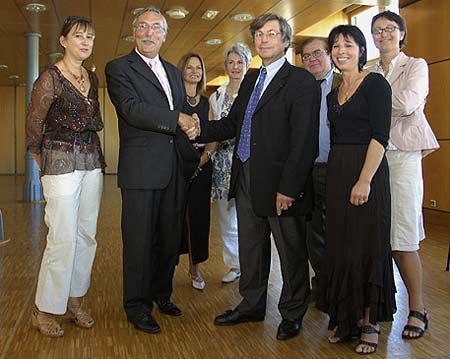 Signature partenariat IAE / AFPI Etudoc