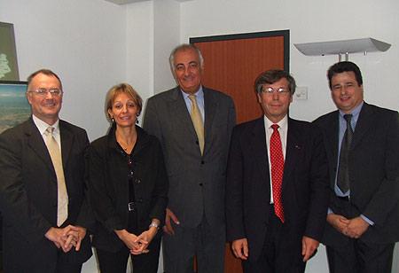 Signature partenariat  IAE - MINEFI