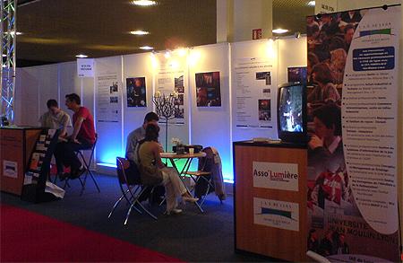 Salon Lumiville : le stand de l'IAE