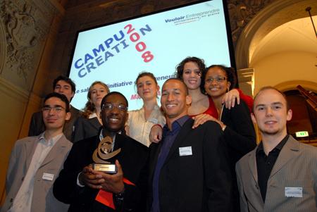 Campus Création 2008 : Prix de la meilleure originalité décerné