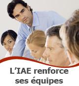 L'IAE recrute 7 enseignants-chercheurs