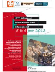 Colloque ISEOR-AOM juin 2012