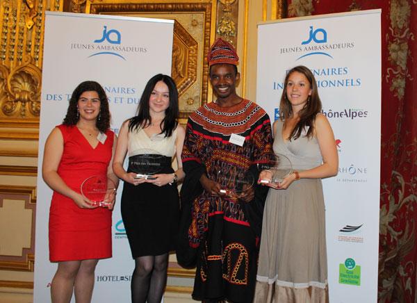 Cérémonie Jeunes Ambassadeurs 2012