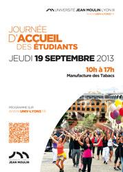 Journée d'accueil des étudiants - Université Jean Moulin Lyon 3