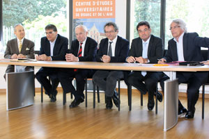 Visuel signature de la convention