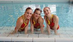 Lyon Synchro Universitaire - Trio médaille de bronze