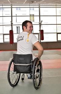 étudiant handicapé