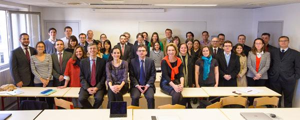 Semaine doctorale - Étudiants brésliens