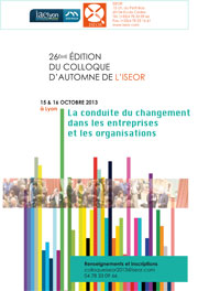 Colloque ISEOR 2013