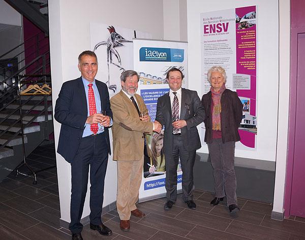 Partenariat IAE Lyon - ENSV