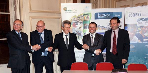 Partenariat IAE Lyon - ESQESE - ISARA