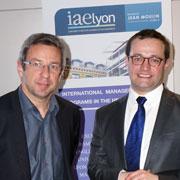 Lionel Flasseur et Jérôme Rive