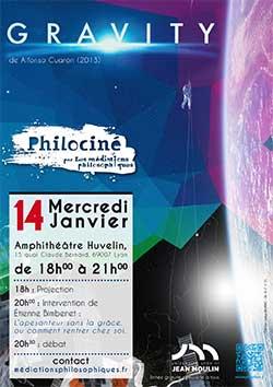 Philociné - Gravity - 14 janvier 2015
