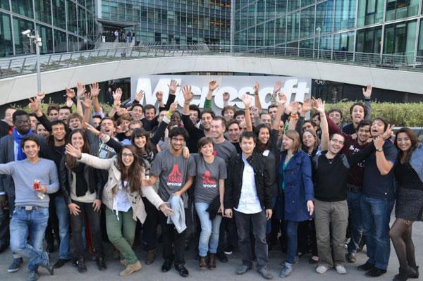 Les Ambassadeurs Microsoft 2012-2013