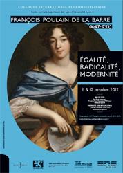 François Poulain de la Barre.  Égalité, Radicalité, Modernité