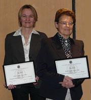 Ulrike Mayrhofer et Sabine Urban