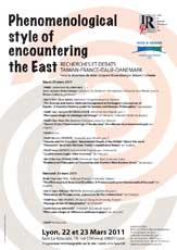 Phenomenological style of encountering the East