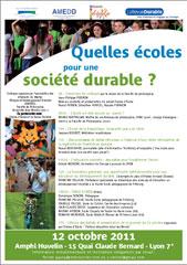 Quelles écoles pour une société durable ?