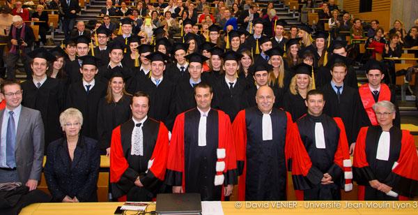Remise de diplômes du CLUBB - Novembre 2013
