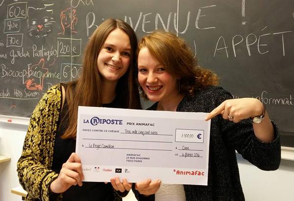 Le Projet Caméléon grand gagnant de l'appel à projets La Riposte 2016