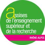 logo assises nationales de l'enseignement supérieur et de la recherche en Rhône-Alpes