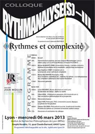 Rythmes et complexité