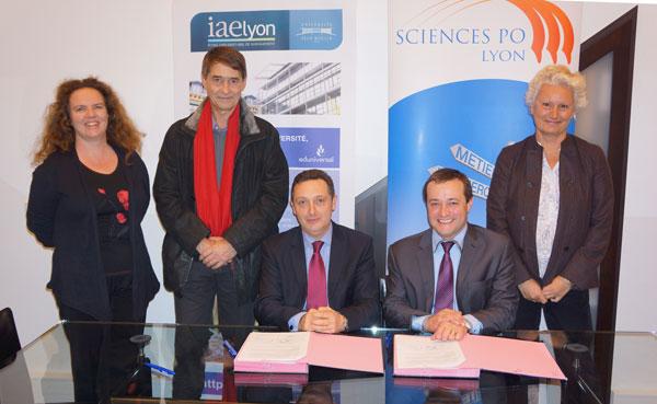 Partenariat IAE Lyon - Sciences Po Lyon