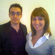 Quentin Giudicelli et Amandine Senot, étudiants IAE Lyon