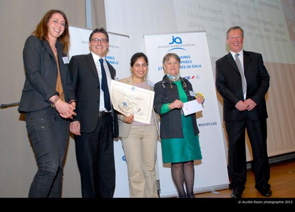 Trophées Jeunes Ambassadeurs 2013 - Tatevik Stepanyan