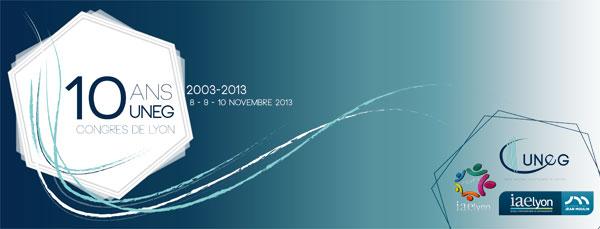 Congrès UNEG 10 ans