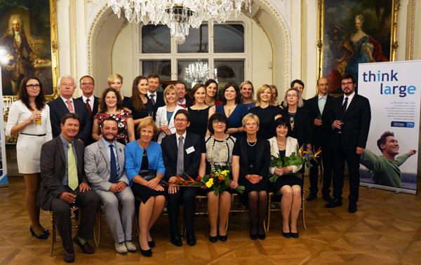 Remise de diplômes MAE Franco-Tchèque 2014
